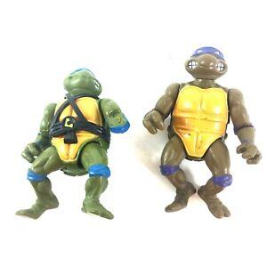 Teenage Mutant Ninja Turtles Vintage 1990 Donnie Leo Figures