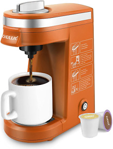 CHULUX Coffee Maker Machine,Single Cup Pod Coffee Brewer with Quick Brew Blue