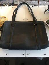 Coach Diplomat Men's Professional Briefcase Leather Black Computer Laptop Bag
