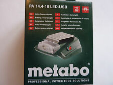 1 St. METABO Akku Power Adapter PA 14.4-18 LED-USB Metabo 600288000