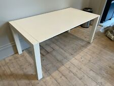 Bramante extending 6-12 seat dining table from MADE.com, white