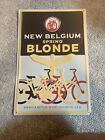 "New Belgium Spring Blonde Bicycles Beer Metal Sign 16.5"" x 11"""