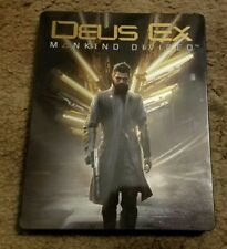 Deus Ex: Mankind Divided Steelbook Case Only *No Game*