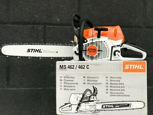 STIHL MS 462 Professional Chainsaw with 20 Inch bar and chain.