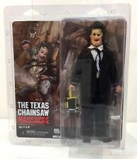 "NECA Texas Chainsaw Massacre Pretty Woman Leatherface RETRO Clothed 8"" Figure"
