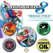 Mario Kart - Button Badge Set
