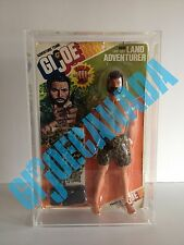 GI JOE 1975 CARDED MUSCLE BODYFIGURE THIS SALE IS FOR ACRYLIC CASES ONLY NO TOYS