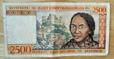 (#N0602) MADAGASCAR ; BILLET de 2500 FRANCS