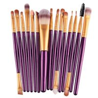 15 Makeup Brushes Foundation Eye shadow Eyeliner Eye Brushes Cosmetic Tool