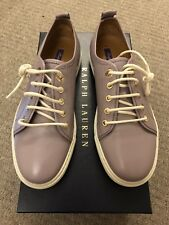 Ralph Lauren Sneakers Lilac leather Purple Label Collection 37B RRP £395 NEW