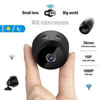 Mini Camera Wireless Wifi IP Home Security HD 1080P DVR Night Vision Remote