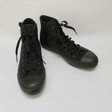 Converse Shoes Sneakers Chuck Taylor II Black High Top Unisex Size Wo 9 Men 7