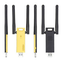 Portable USB 2 Antennas 2.4/5G 1200Mbps Wifi Adapter Dual Band Network Card LY