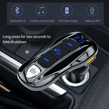 Bluetooth Car FM Transmitter Dual USB Charger Handsfree MP3 Radio Adapter Kit