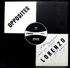 """Lorenzo Opposites 12"""" 45 RPM LP VG GT-002 HT Stereo Bahamas Reggae SIGNED"""