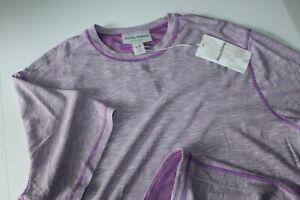 Tommy Bahama Tee Shirt Flip Tide Reversible Pervinca Purple SS New Medium M
