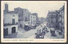 Spain Postcard Vilanova I Geltru Praca Del Pou & Market L@@K