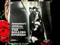 THE ROLLING STONES DECEMBER'S CHILDREN VINYL LP 1966 BRIGHT RED LABEL MONO