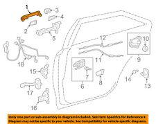 TOYOTA OEM 13-15 Venza Rear Door-Handle Outside Exterior 692100T030C1
