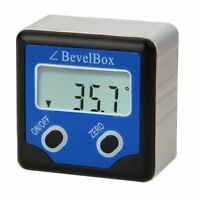 Elektronisch Digital Neigungsmesser Bevel  Box Gauge Winkelmesser ±180°(0-360°)