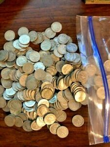 90% silver - Roll of 50 circulated Roosevelt dimes, $5 face No Junk