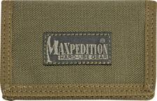 Maxpedition Micro Wallet Khaki 0218K Super thin design. Truly a minimalist's wal