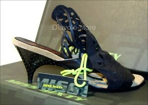 MISS SIXTY Sandaletten Schuhe Pumps Leder Romy  NEU