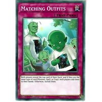 YUGIOH IGAS-EN099 MATCHING OUTFITS - COMMON 1st EDITION