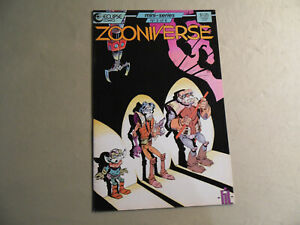 Zooniverse #3 (Eclipse 1986) Free Domestic Shipping