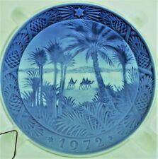 """Royal Copehagen - 1972 - In The Desert - 3 Wise Men - 7"""" Plate"""