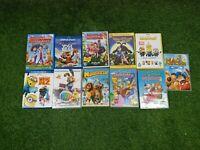 Kids DVD Bundle X11 Minions Yogi Bear The Simpsons Hop Etc