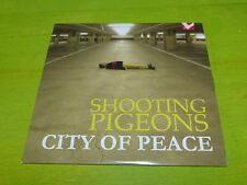 SHOOTING PIGEONS - CITY OF PEACE !!!!!!!!!!!!! RARE CD PROMO !!!!!!!
