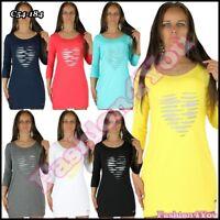 Women's Tunic Dress Ladies Summer Everyday Mini Dress One Size 8,10,12,14,16 UK