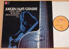 JÜRGEN KLATT - Gitarrenmusik aus Renaissance und Barock  (HARMONIA MUNDI 1974)