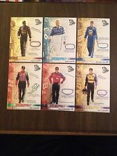 NASCAR 2005 Press Pass Velocity 6 Card Lot See pics Awesome!!!