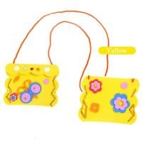 2018 Children DIY Handmade Material Package Creative Wallet Sewing Bag Toys DD