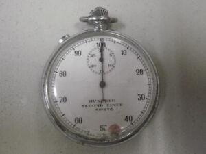 Vintage Aristo Valjoux 24 Split Second Rattrapante Stopwatch SNET PBX Timer 2Fix