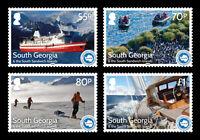 South Georgia 2016 25th Anniversary of IAATO 4v set MNH