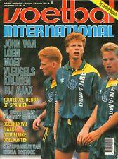 V.I. 1991 nr. 35  - JOSZEF KIPRICH / HANSA ROSTOCK / OGECHUKWU / JOHN VAN LOEN