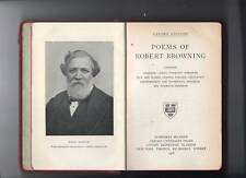 poems of robert browning - oxford edition - 1916 -