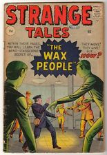 "MARVEL Comics  G+ STRANGE TALES 83  ""WAX PEOPLE"" 3.0  KIRBY DITKO"