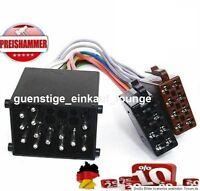BMW DIN ISO Auto Radio Adapter Kabel Stecker 3er 5er Z3 E34 E36 E46 E39 Neu