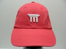 M FINANCIAL GROUP - SALMON - ONE SIZE ADJUSTABLE STRAPBACK BALL CAP HAT!