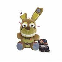 "Five Nights at Freddy's Springtrap FNAF Plush Toy Stuffed Doll 6"""