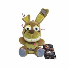 Five Nights at Freddy's Springtrap FNAF Plush Toy Stuffed Doll 6""