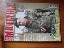 $$z Revue Armes Militaria N°208 Commandos Marine  Kepi gendarme 14-18  Maginot