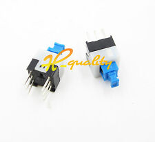 50Pcs Latching 7x7mm Mini Tactile Push Button Switch On-Off DIP-6pins new