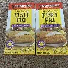 ZATARAINS, BREADING FISH FRY CRISPY, 12 OZ, (Pack of 2)