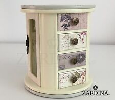 Laura - Fairy Tale Swivel Wooden Jewellery Box