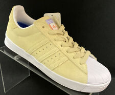 Adidas Superstar Vulc ADV Men's Casual Shoes Pastel Yellow CG4838 Size 6.5